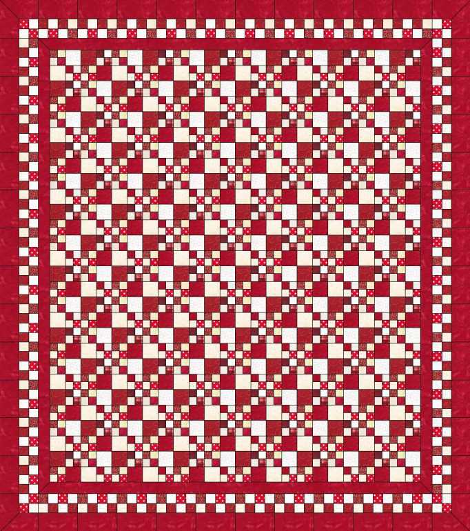 double-four-patch-quilt